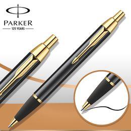 5 Style Parker IM Ballpoint Pen Silver   Golden Clip Business Parker Ball point Pen Writing Office School