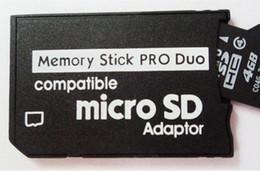 TF Carte micro SD pour Memory Stick Pro Duo Adaptateur compatible fente pour carte fente pour Sony Appareil photo numérique Game Player à partir de adaptateurs duo memory stick fabricateur