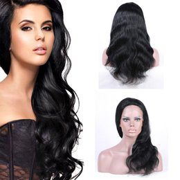 High Quality Remy Brazilian Full Lace Human Hair With Baby Hair For Black Women 130% Density Full Lace Body Wave