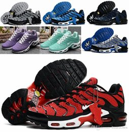 Wholesale 2016 Newest Max TN Men Running Shoes Air High Quality Sport Shoes Cheap Maxes Trainers Outdoor Athletic Sneakers Eur