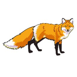 The Fox Was Looking At You Transferable 3d Car Sticker Personality Attractive Car Styling Vinyl Decal Graphics