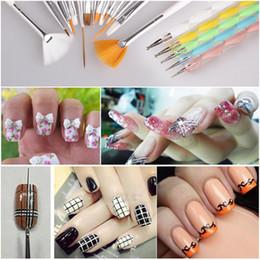 20pcs set Nail Art Design Painting Tool Pen Polish Brush Set Kit Professional Nail Brushes Styling for nails High Quality
