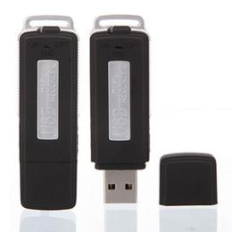 Acheter en ligne Usb chaud lecteur flash-Vente en gros- Hot! Nouveau 2 en 1 Mini 8 Go Disque USB Flash Drive Enregistreur vocal audio numérique 150 h Enregistrement Dictaphone Qualité Jan12