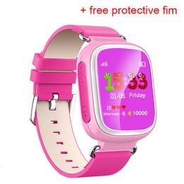 Descuento dispositivo de niño perdido GPS Q70Watch Pantalla táctil WIFI Posicionamiento Smart Watch Niños SOS Llame Ubicación Buscador Dispositivo Anti Lost Recordatorio