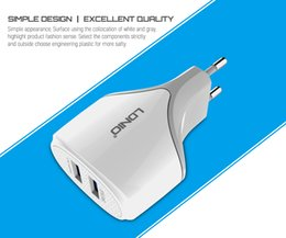 LDNIO Dual 2 port USB Charger 5V 2.4A Wall Adapter Mobile Phone Device Data Charging for APPLE iPhone 5 6 iPad mini iPod Samsung