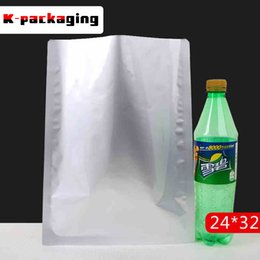 5 pcs Heat Seal Foil Bags 24x32cm 3-side Food Grade Silver Seal Bag   Aluminum Foil Vacuum Bag   Large Heat Seal Foil Bags