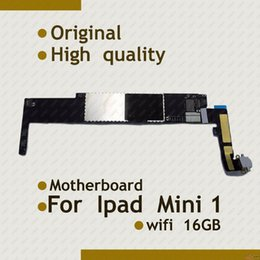 Wholesale GB Wifi Version motherboard for ipad mini motherboard mainborad IOS System with full chips logic board Original working