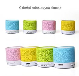Wholesale annual best gift hotest China Market suport TF CARD wireless smart Music Speaker Music Mini Bluetooth Speaker