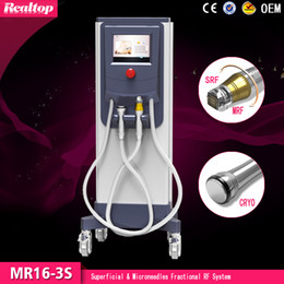 2016 hottest selling RF microneedle fractional rf fractional rf microneedle facial machine for salon or home use ce manufacture