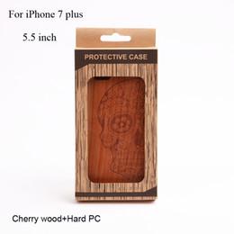 Designer Phone Skin pour iphone 7 plus Hybrid Couverture caoutchoutée [cherry Wood] couverture de téléphone cellulaire pour Apple iPhone7plus [5.5 inch] supplier designer cell phones à partir de téléphones cellulaires concepteur fournisseurs