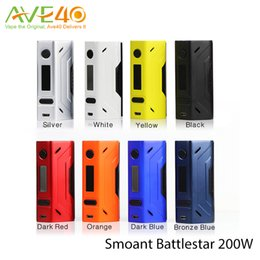 Wholesale Smoant Battlestar W TC Box Mod Support Ni Ti SS NC TCR Best Match with Smoant Mobula RTA VS Wismec RX2