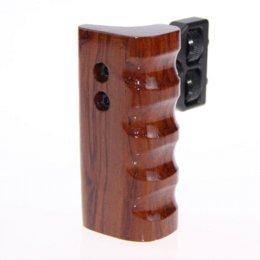 CAMVATE Cámara DSLR de madera de madera para manejar el apretón de montaje derecho Apoyo de DV DV Video Cage Camara Photo Studio accesorio C9090 desde aparejo de jaula proveedores