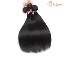 Wholesale 7A Peruvian Virgin Hair Straight 4Pcs Unprocessed Peruvian Straight 100% Peruvian Human Hair Extensions Hair Products