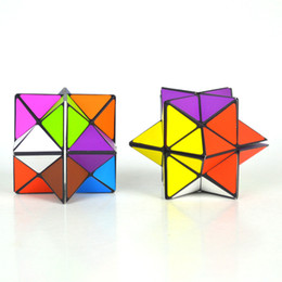 Detachable Infinity Cube 2 in 1 Colorful Magic Cube 3D Puzzle Decompression magic Cubes Toy EDC Fidget ADHD Anti Stress Relief Novelty Toys