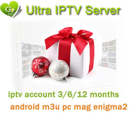 Wholesale Ultra Europe IPTV months Arabic France UK Germany Spain Italy IPTV Channels for M3U Smart TV Android Enigma2 MAG free trail