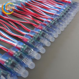 WS2811 Led pixel light RGB LED string 12mm Full Color RGB LED Pixel module Light With IC WS2811 DC 5V DC 12V