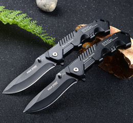 Cold steel HY217-3 folding pocket knife 7Cr17 Blade multi-function swiss army knifes outdoor camping survival gear edc knives