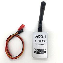 2017 vidéo rc 20pcs 5.8G 2000mW 2W 32CH Wirless audio vidéo AV TS933 émetteur pour drones RC multicompte