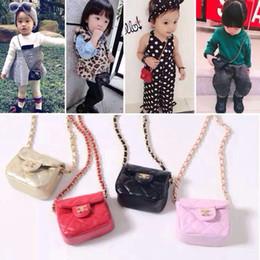 Enfants enfants sacs à bandoulière en Ligne-Mode sacs à main enfants sacs à main coréens Classique Princesse sacs Enfants Rhombus sacs Messenger Bag Sacs à une seule épaule A5825