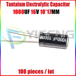 Wholesale Electrolytic capacitors V1000UF V UF Volume X17 Best price and good service