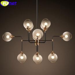 FUMAT Creative MODO Kronleuchter Vintage Industrial Beleuchtung Dinning Wohnzimmer Lampe Noric American Loft Hngeleuchte