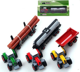 educational toys for children trucks and trailers model car
