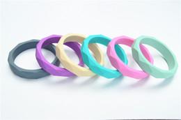 Wholesale BPA FREE Silicone bangle bracelet Baby Teething Jewelry