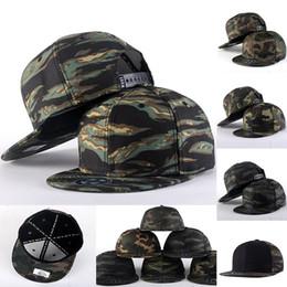 2017 sombreros de camuflaje Nuevo Camuflaje Gorras De Béisbol Sombreros De Hip Hop Unisex Moda Deportes De Lujo Calle Baile Baloncesto Bola Gorras mujeres hombres Turismo Sombreros WX-H73 sombreros de camuflaje outlet