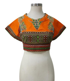 Shenbolen African Style Top Summer Fashion Africa Women Sexy Short Tops African Traditional Dress For Plus Size