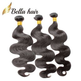 10~24 inch Unprocessed Indian Hair Extension 8A Natural Color Body Wave Human Hair Extension Free Shipping