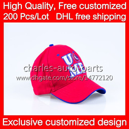 VIP Price HOT !! NICE COOL Red Baseball Cap caps hat hats and DHL free shipping