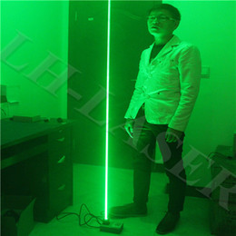 Custom 532nm 100mw green or blue color thick beam laser base Laser foot Double laser sword LaserMan show