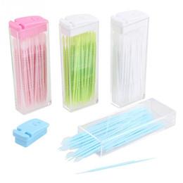 2017 cheveux amicale Grossiste-3 Packs Plastic Toothpicks Brosse cheveux 150pcs dans la boîte Portable Eco-friendly No Smell Livraison gratuite cheveux amicale ventes