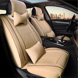 High-end Leather special Car Seat Covers For Volkswagen vw passat b5 6 polo golf 4 tiguan jetta t5 car accessories car-styling