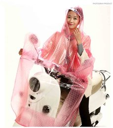 A large transparent brim Raincoat rainwear Motorcycle rainproof Poncho A bicycle Cape will protect you in wet weather