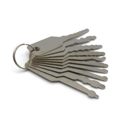 Wholesale NEW Jiggler Keys Lock Pick For Double Sided Lock Pick Tools hot sale popular in stock now