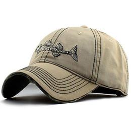 Los sombreros de los hombres en venta-Baratos Gorras de Béisbol Sombrero Snapbacks para Hombres Algodón Fish Bone Casual Mujer Ejercicio al aire libre Marcas Deportes Snapback Negro Khaki Naranja