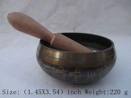 Wholesale Old Tibet Tibetan Buddhism copper tribe prayers singing bowl