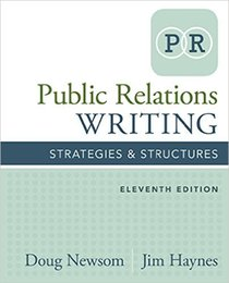 Wholesale Public Relations Writing Strategies Structures