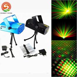 Des vacances mini-lumières à vendre-Hot Sale Holiday 50pcs lot Bleu Mini Laser Éclairage 150mW Mini GreenRed LED Laser DJ Party Éclairage Noir Disco Dance Floor Lights