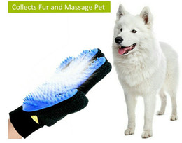 Wholesale Five Finger Deshedding Glove for Quick Gentle and Efficient Pet Grooming Great for All Dogs and Cats Right Handed Hair Removal Brush