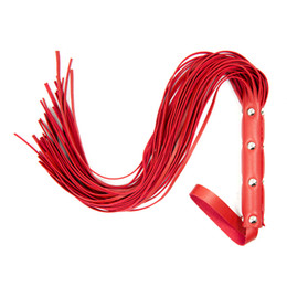 PVC BDSM Spanking Leather Flogger for Sex Bondage Whips for Adults Play Games Sexy Toys Flirting Tools
