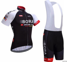 2017 bora team Cycling jersey bike shorts set breathable Ropa Ciclismo MTB bicycle wear mens Summer Quick Dry Bicycle Sportswear