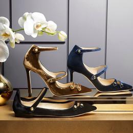 Compra Online Boda de la sandalia del tacón alto cm-2017 mujeres punta atractiva dedo del pie bombas de cuero de ante zapatos de tacón alto de 10 cm zapatos de boda mujer verano sandalias de gladiador mujeres solo zapatos