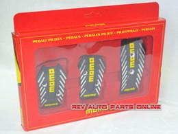 Wholesale Manual Transmission Momo Gotham Car Racing Pedal Pad Cover Universal Fitting