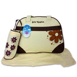 Wholesale Multi Function Baby Diaper Bag Mummy Mama Nappy Handbag colors choose