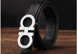 Wholesale New Fashion Mens Business designer Belts Luxury Ceinture Automatic Buckle Genuine Leather Belts For Men High quality