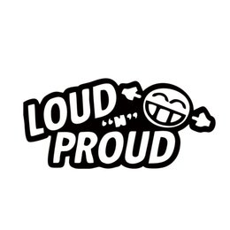 2017 Hot Sale Cool Graphics Personality Car Decals Loud N Proud Creative Reflective Waterproof Decals Sticker Jdm