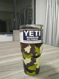 Wholesale Christmas Gift Cups - Best Christmas Gifts YETI Mugs Camouflage Custom 30 oz Camo #304 Stainless Steel Insulated Rambler Tumblers VS YETI Cups