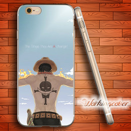 Coque Cartoon One Piece Luff Soft Clear TPU Case for iPhone 6 6S 7 Plus 5S SE 5 5C 4S 4 Case Silicone Cover.